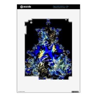 Saffires and Blue Satin.jpg Skin For iPad 2