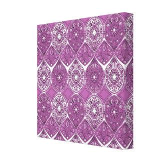 saffreya orchid canvas print