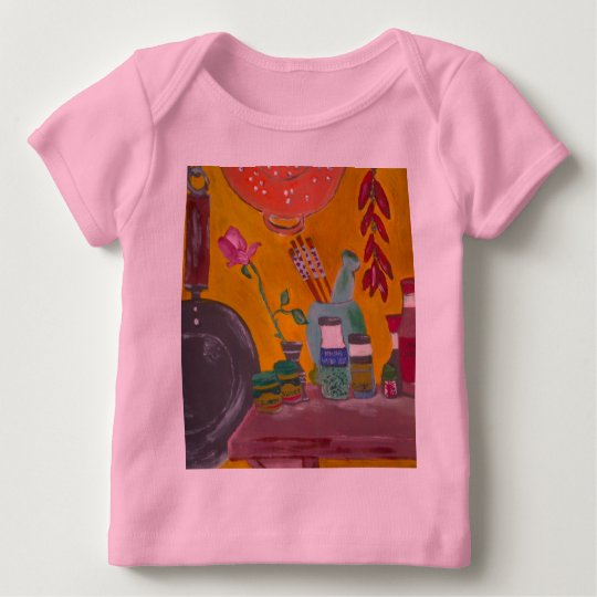 Saffron And Chillies Baby Clothing Baby T-Shirt