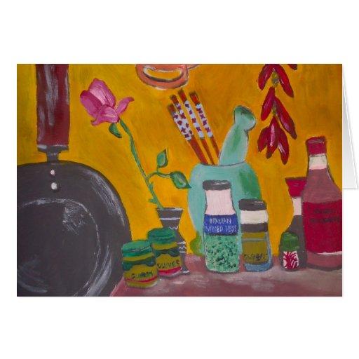Saffron And Chillies Card