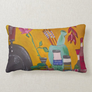 Saffron And Chillies Cushion Pillow