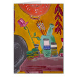 Saffron And Chillies Greeting Card