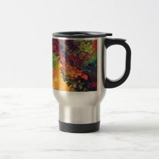 Saffron and Curry Travel Mug