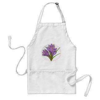 Saffron flower apron