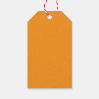 Saffron Pack Of Gift Tags