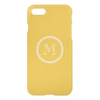 Saffron High End Colored Personalized iPhone 7 Case