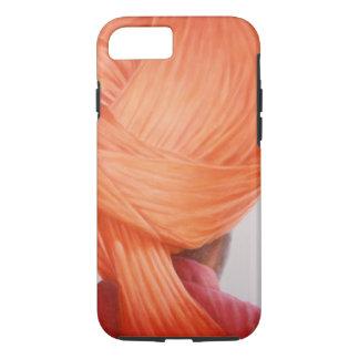 Saffron Turban iPhone 7 Case