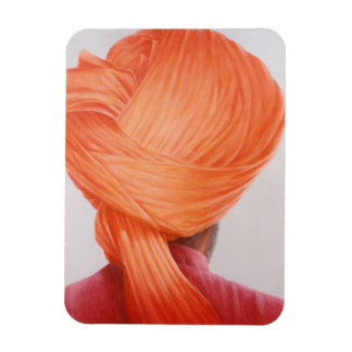 Saffron Turban Magnet
