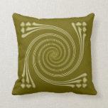 Saffron Whirligig Pillow
