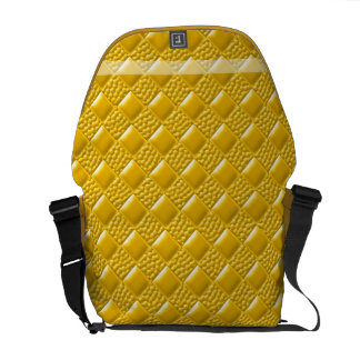 Saffron Yellow Courier Bag
