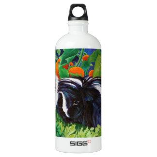 Safi and Zaria Guinea Pigs Aluminum Water Bottle