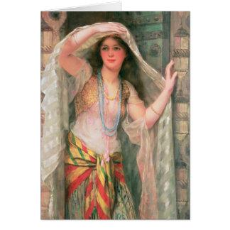 Safie, 1900 greeting card