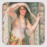 Safie, 1900 pegatina cuadrada
