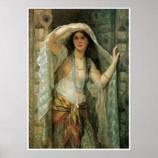 Safie, One of the Three Ladies of Bagdad, 1900 Posters