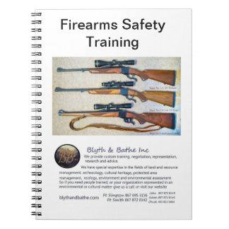 Safty training notebook