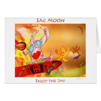 Sag Moon Card