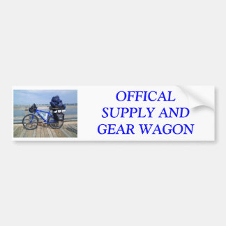 SAG wagon Bumper Sticker
