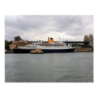 Saga Rose Cruise Ship Postcard