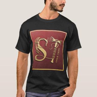 Saga Thing Dragon and Hammer Logo T-Shirt