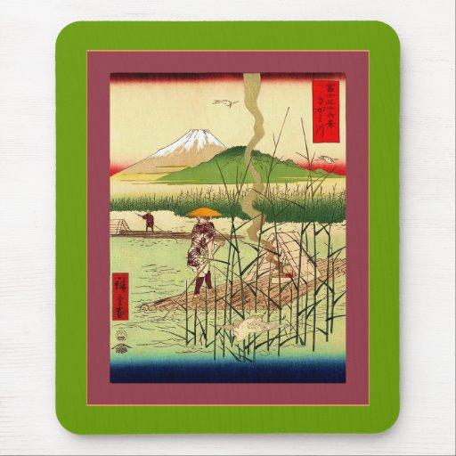 Sagami River Mousepads