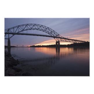 Sagamor Bridge over Cape Cod canal, 2 Photo Print