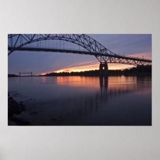 Sagamor Bridge over Cape Cod canal, 2 Print