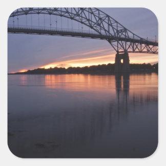 Sagamor Bridge over Cape Cod canal 2 Sticker