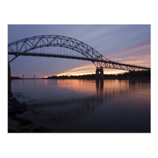 Sagamor Bridge over Cape Cod canal, Postcard