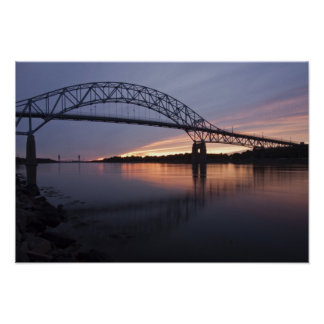 Sagamor Bridge over Cape Cod canal, Poster