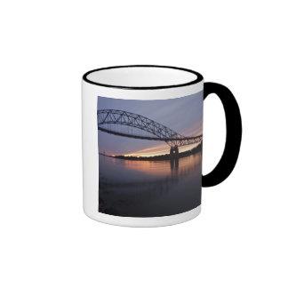 Sagamor Bridge over Cape Cod canal, Ringer Mug