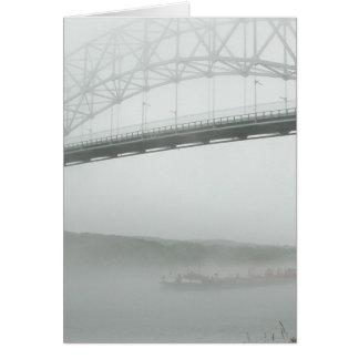 Sagamore Bridge--thinking of you Stationery Note Card