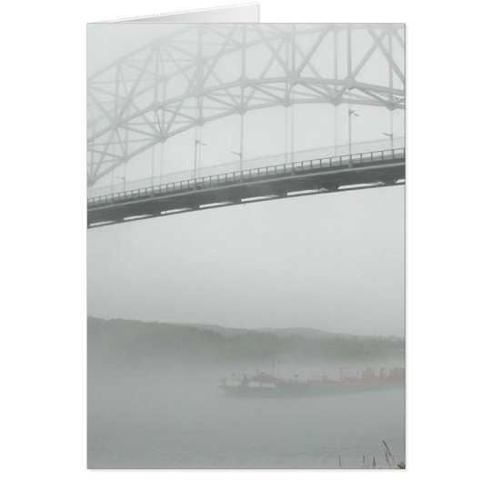 Sagamore Bridge--thinking of you Card