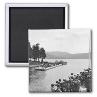 Sagamore Dock, Lake George: 1904 Magnet
