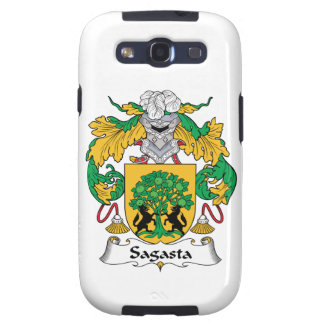 Sagasta Family Crest Samsung Galaxy SIII Cover