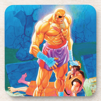Sagat Beat Dan Beverage Coaster