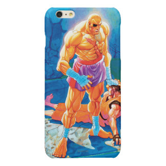 Sagat Beat Dan Glossy iPhone 6 Plus Case