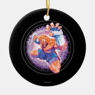 Sagat Ceramic Ornament