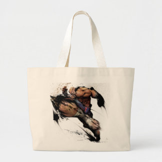 Sagat Knee Large Tote Bag