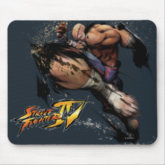 Sagat Knee Mouse Pad