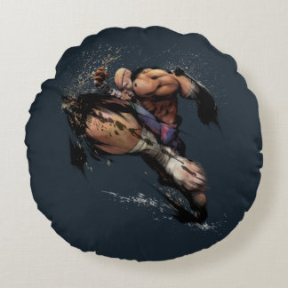Sagat Knee Round Pillow