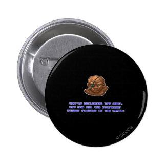 Sagat KO'ed Button