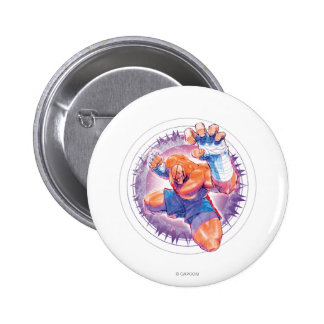 Sagat Pinback Button