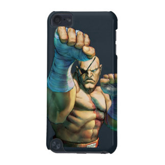 Sagat Ready to Block iPod Touch (5th Generation) Cover
