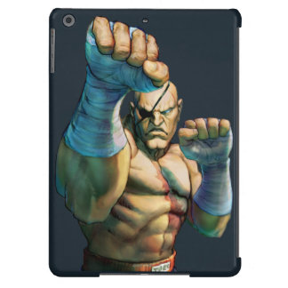 Sagat Ready to Block Cover For iPad Air