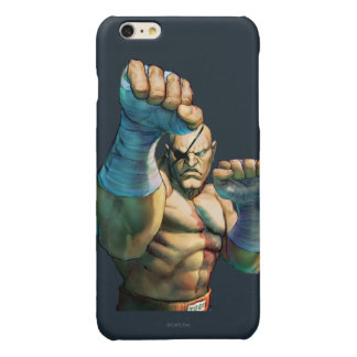 Sagat Ready to Block Glossy iPhone 6 Plus Case