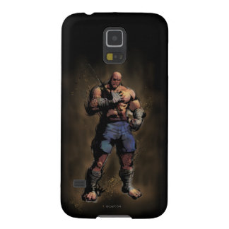 Sagat Standing Galaxy S5 Cases