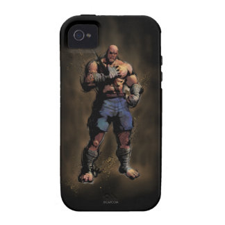 Sagat Standing Vibe iPhone 4 Case