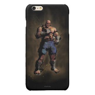 Sagat Standing Glossy iPhone 6 Plus Case