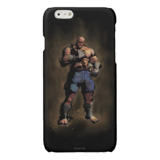 Sagat Standing Glossy iPhone 6 Case