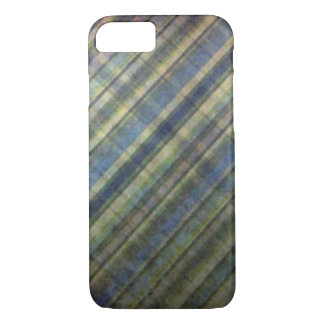 Sage and Lavender Stripes iPhone 7 Case
